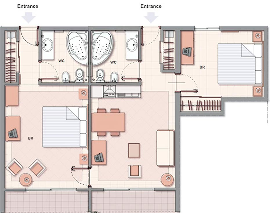 Mother In Law Master Suite Addition Floor Plans 8