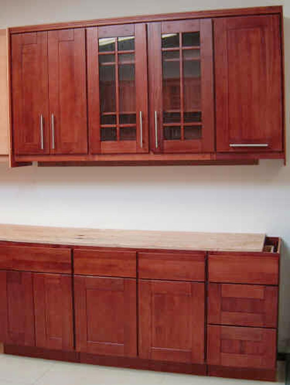 Shaker style kitchen cabinet doors combination for shaker style