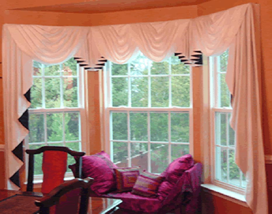 Window Treatments For Small Bow Windows Picture