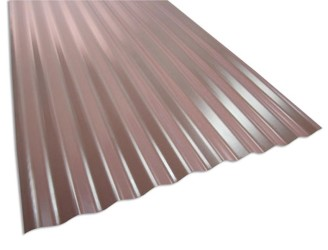 Architectural corrugated metal wall panel 1