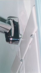 Bowed Claw Foot Tub Shower Curtain Rod On Ceilings