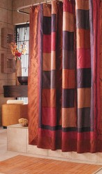 Bowed clawfoot tub shower curtain rod 3
