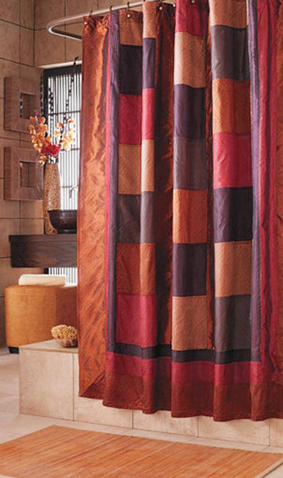 Bowed Clawfoot Tub Shower Curtain Rod 3
