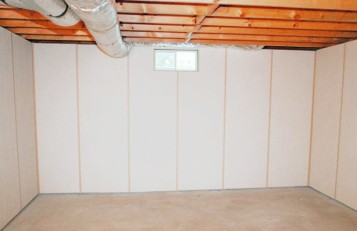 Diy basement wall finishing panels ideas 2