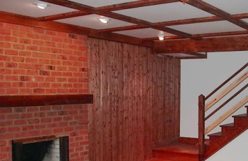 Diy basement wall finishing panels ideas 3