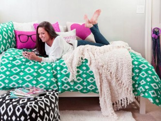 Dorm room bedding accessories for girls 2