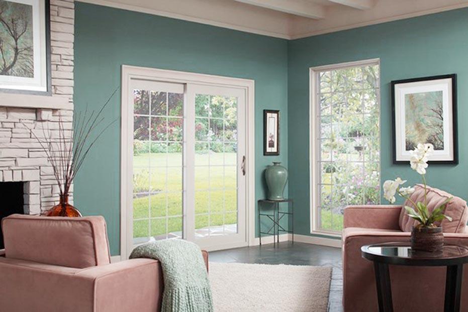 Gulf Coast Front Door Window Coverings 1