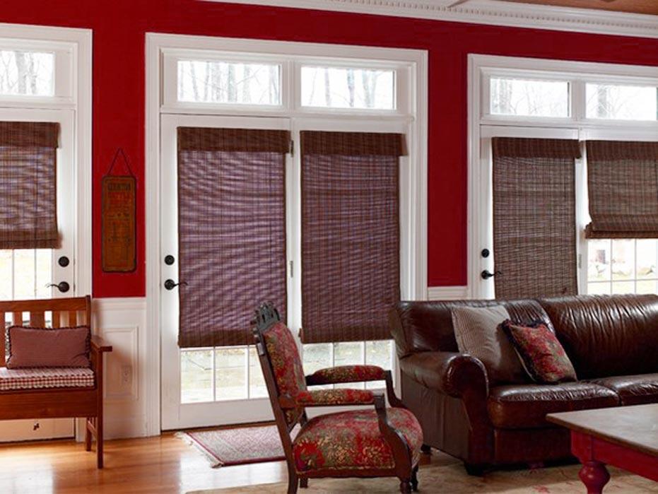 Gulf Coast Front Door Window Coverings 3