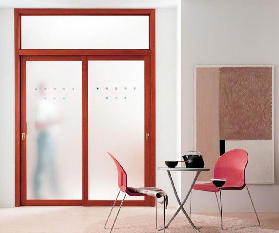 Interior Storm Doors For French Doors With Frosted Glass