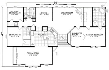 Pole barn house floor plans