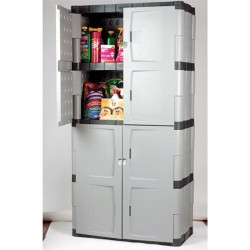 Rubbermaid garage storage cabinets with doors 1