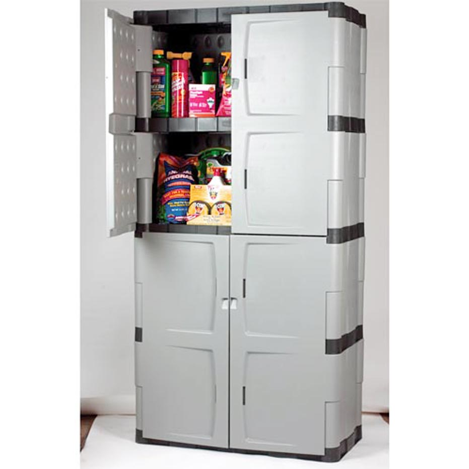 Rubbermaid Garage Storage Cabinets With Doors Your Best Storage Solution  sc 1 st  SpotLats & Rubbermaid Garage Storage Cabinets with Doors Your Best Storage ...
