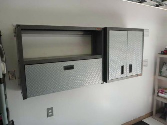 Rubbermaid garage storage cabinets with doors 2