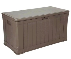 Under deck wood storage shed kit 2