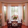 931x631px Window Coverings For French Doors Bay Windows Selections Picture in Living Room