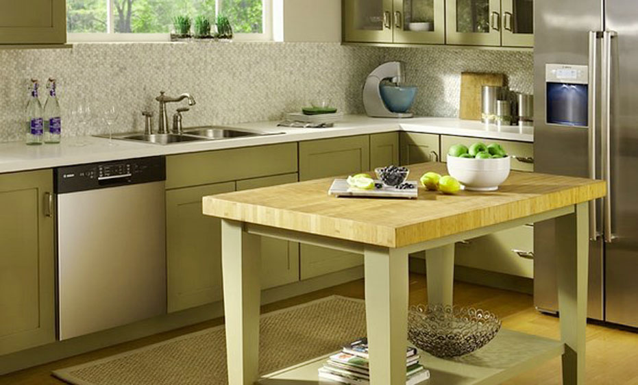butcher block dining room tables for small spaces 2