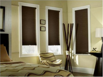 Cordless room darkening cellular shades 1