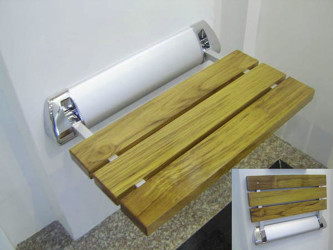 The Art Of Folding Teak Wood Shower Bench