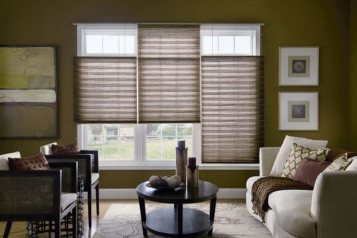 Graber hunter douglas pleated shades images
