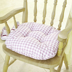 Kitchen chair cushions with ties image