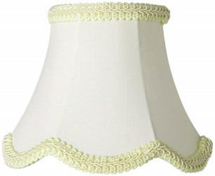 Mini clip on chandelier lamp shades 1