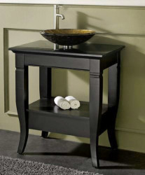 Small bathroom vanities with vessel sinks `1