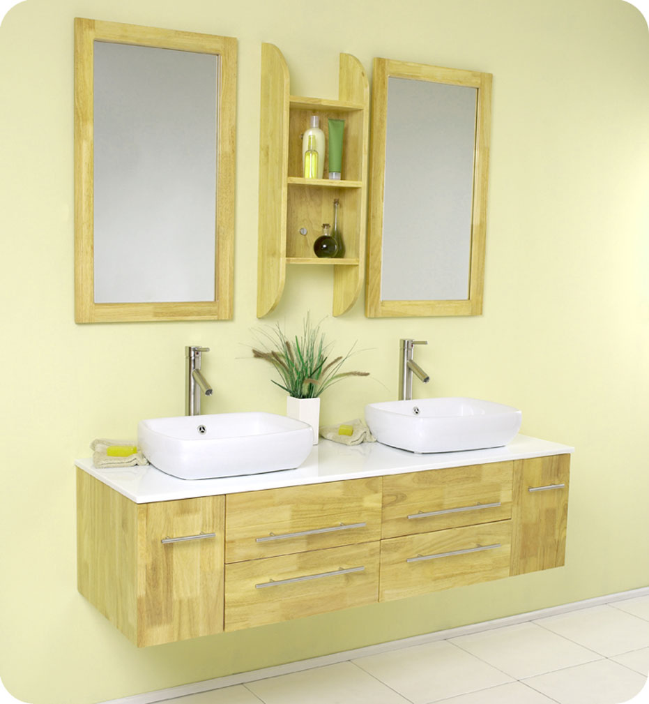Small bathroom vanities with vessel sinks as an for Little bathroom