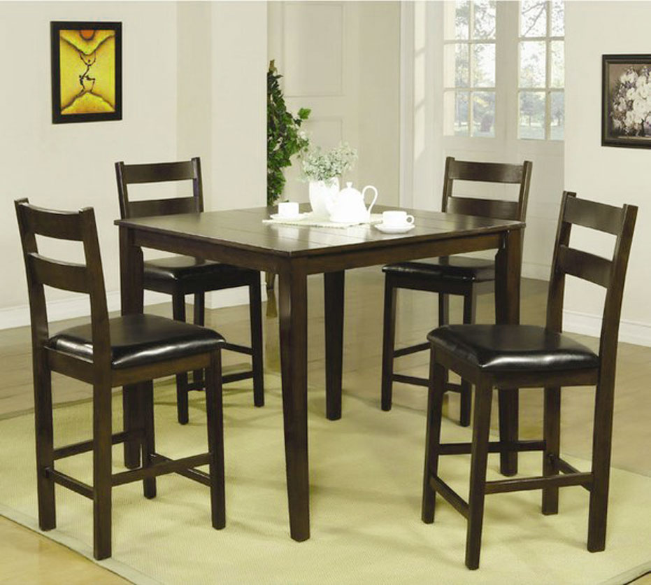 small pub style dining room table sets spotlats. Black Bedroom Furniture Sets. Home Design Ideas