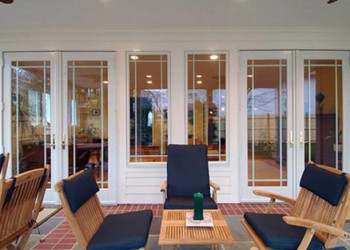 Style Of French Patio Doors With Built In Blinds Spotlats