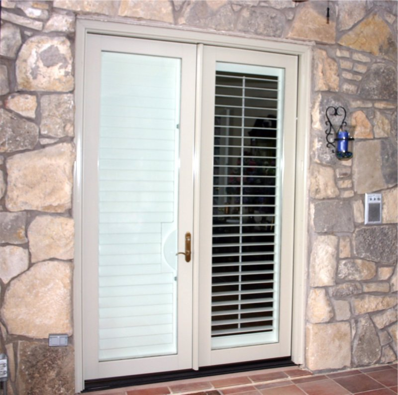 Aluminum clad french doors spotlats for Aluminum french doors