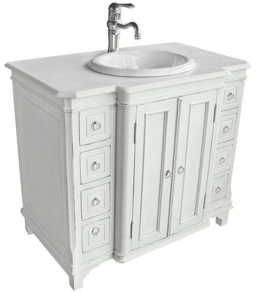Antique bathroom vanities spotlats - French provincial bathroom vanities ...