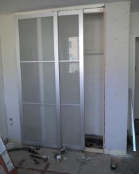 Attaching PAX Doors To An Existing Wall