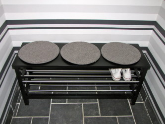 Black Shoe Storage Bench Ikea