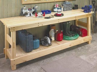 Build Garage Workbench