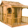 Bunkie Cedar Wood Shed