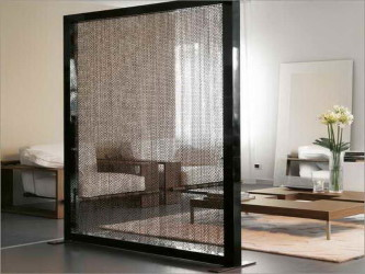 Chic Hanging Room Divider