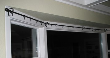 Curtainrod For Large Bay Window