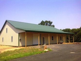 Custom Pole Barns Built
