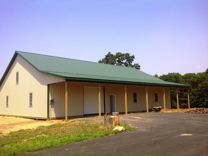 Custom Pole Barns Built