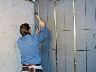 Diy basement wall finishing panels ideas cheap basement for Types of insulation for basement
