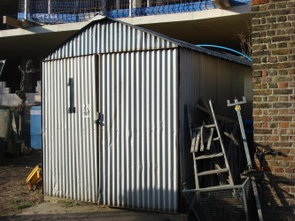 Description Corrugated Iron Shed