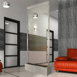 Divider Screen With Curtains