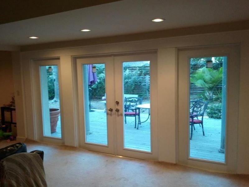 Doorpro entryways spotlats for French patio doors with built in blinds