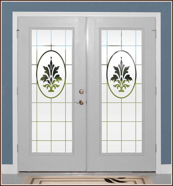 Doral Etched Glass Door Panels Spotlats