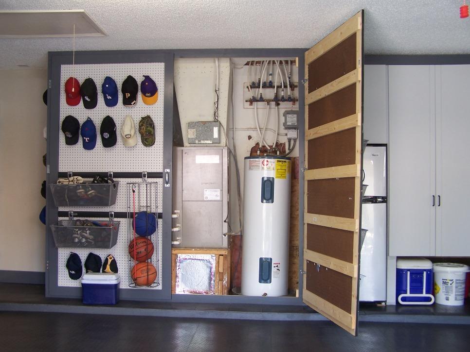 extreme garage improvements spotlats. Black Bedroom Furniture Sets. Home Design Ideas