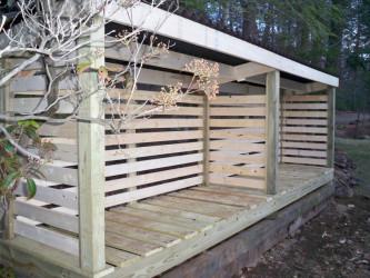 Firewood Storage Sheds Building