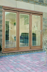 French Doors With Built