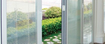 Style of french patio doors with built in blinds spotlats for Lowes patio doors with built in blinds
