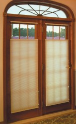 French Doors Cellular Shades