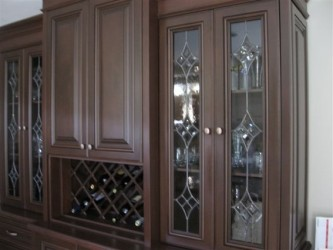Glass Inserts For Cabinets